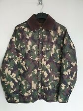 Barbour Highfield Jacket Mens Liddesdale Camouflage Quilted Rare Hunting Game S