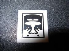 """SHEPARD FAIREY Obey Giant Sticker 1X0.75"""" MINI ANDRE TOP LOGO from poster print"""
