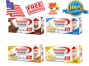 Premier Protein High Protein Shake 11 fl. oz., 12pack PICK FROM 4 FLAVORS
