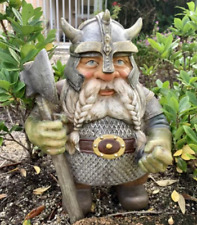Resin Naked Gnome Statue Decorations for Patio Yard Lawn Porch Lovely Dwarf Lovers Garden Gifts Women Garden Goblin Gnome Statue Ornaments Outdoor