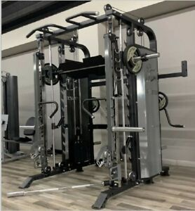 Smith Machine Commercial Multi Functional 120kg weight stack