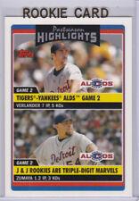 JUSTIN VERLANDER 2006 Topps Update ROOKIE CARD Detroit Tigers Astros BASEBALL RC