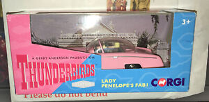 NEW Corgi Thunderbirds FAB1 with Lady Penelope & Parker (CC00604)