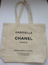 CHANEL: GABRIELLE  CANVAS TOTE BAG LIMITED EDITION FALL 2017 NEW & UNUSED