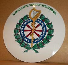 Ambulance Service Personnel Southern Ireland  vinyl sticker.