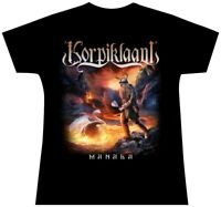 Korpiklaani Manala Girls Womens Ladies Shirt S L New Official T-Shirt