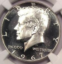 1967 SMS Kennedy Half Dollar 50C Coin - NGC MS68 Cameo PQ - $825 Value!