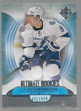 TYLER JOHNSON UD Ultimate Rookie #/499 Upper Deck Collection Lightning RC