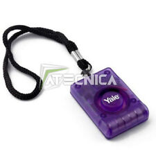 Télécommande sonore 92db YALe anti-vol anti-agréssion personal attack alarm