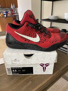 Nike Kobe 9 IX Elite Low Size 8.5 University Red Og All