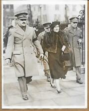 1940 1st Canadian Division General McNaughton Funeral Tweedsmuir Press Photo