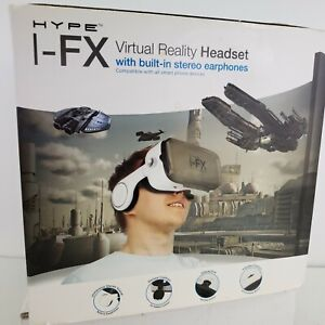 I-FX Virtual Reality Headset with buit in stereo earphones