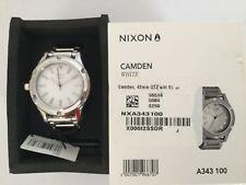 Nixon women's Camden silver EUC