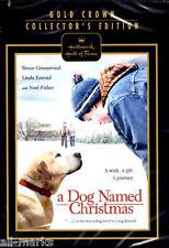 Hallmark HoF~A Dog Named Christmas~DVD~New~Damaged Packaging~GUARANTEED TO PLAY
