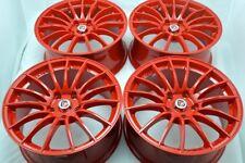 17 red Wheels Rims Civic Camry Soul Prius V Solara Sienna Matrix Eclipse 5x114.3