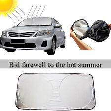 Front Rear Windshield Car Window Sun Shade Shield Auto Cover Visor Folding Block