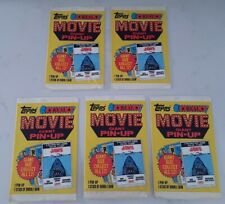 Lot of 5 Topps 1981 Real Movie Giant Pin-Up Posters Unopened Packs Star Wars