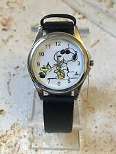 SNOOPY & WOODSTOCK  WATCH - NOS - NEW BATTERY -  FREE SHIPPING!
