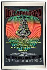 Lollapalooza 1994 POSTER Beastie Boys Green Day Silkscreen TAZ Domiguez Hills CA