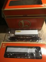 LIONEL  6-36026 JB Hunt Flatcars with Trailers -Factory Sealed Set
