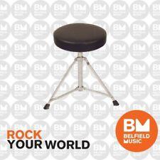 Promax DT-196 Drum Stool Seat Throne Padded Tripod Base DT196 - BNIB - BM