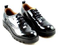 ALVIERO MARTINI 1 CLASSE Junior Geo scarpe inglesine sneakers donna pelle zeppa