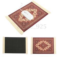 "11""x7.1"" Fabric Persian Rug Mat Mousepad Retro Style Carpet Pattern Mouse P"
