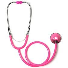 Hot Pink Single Head Stethoscope with  Baby Elephant