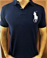 New NWT Mens Ralph Lauren Polo Shirt Big Pony Custom Fit Small Medium Large XL