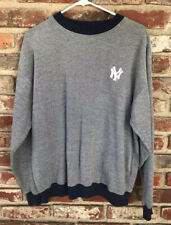 Vintage 90's MLB Starter New York Yankees Men's Medium M Pullover Sweatshirt