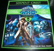 Doctor Who Serpent Crest The Complete Series Audio 5 CD Set - NEW