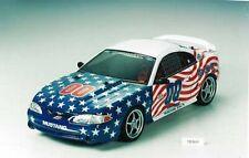 Body Set (no paint) tamiya ford mustang body 50690 deco US 1/10
