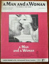 Un uomo e una donna da Pierre barouh, Jerry Keller & Francis Lai – Pub.1966