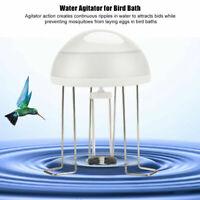 Super Quite Bird Bath Solar Power Water Wiggler Agitator for Birdbaths Agitator