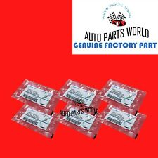 GENUINE SUBARU FORESTER CROSSTREK OIL DRAIN PLUG GASKET 16mm SET OF 6 803916010