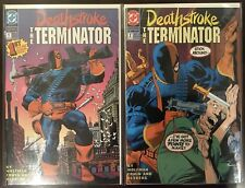 Deathstroke the Terminator (1991) 1-5, 17, 48-50, Annuals 1, 4, DC