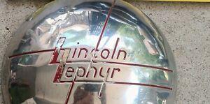 Lincoln Zephyr Rare OEM 1936/37/38 Hubcaps Center Caps set of 4