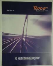 Roco Neuheitenkatalog 2007 mit 66 Seiten Spur HO Fahrzeuge und Zubehör, neuwert