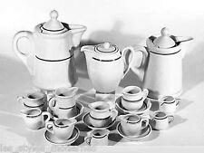 SAMMLUNG 18 Teile Porzellan ° Art Deco ° U.S.Zone ° 50er Jahre