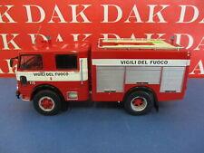 Die cast 1/43 Modellino Camion Pompieri Autopompa OM 150 II Serie 1980 Italia