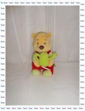 ♣ - Doudou Musical Winnie Arrosoir Vert Etiquettes Disney Baby Nicoty