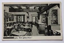 sw AK Goslar, Hotel Goldene Krone Innenansicht ca. 1950
