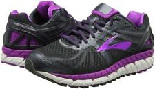 NEW Brooks Ariel 16 Women Size 7 Anthracite Purple Running Shoes 1202191B059