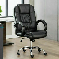NEW Soft Leather Office chair gaming Ergonomic Executive Desk Swivel Computer Ch