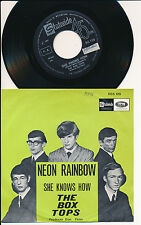 "THE BOX TOPS 45 TOURS 7"" BELGIUM NEON RAINBOW"