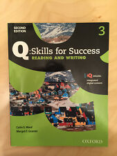 Q: Skills for Success Reading and Writing Level 3 Student Book 2nd Edition