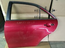 2008 TOYOTA CAMRY HYBRID 2.4L REAR LEFT DRIVER SIDE DOOR SHELL PANEL RED OEM+