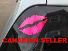Lips Kiss Decals Stickers Car Truck Lingerie Stick People Strightner Funny Hair