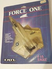 ERTL FORCE ONE 1162 US Air Force F-15 EAGLE, 1986 Die Cast Model NEW