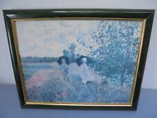 Cadre Reproduction Dessin Monet